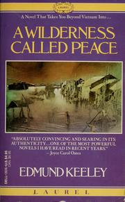 Cover of: A wilderness called peace