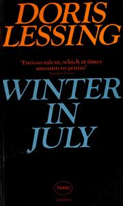 Cover of: Winter in July