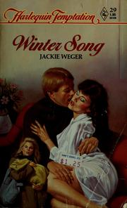 Cover of: Winter song