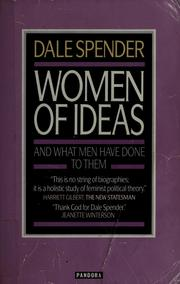 Cover of: Women of Ideas: And What Men Have Done to Them