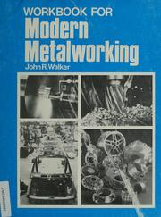 Cover of: Workbook for modern metalworking