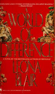 Cover of: A world of difference