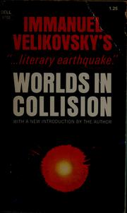 Cover of: Worlds in collision.