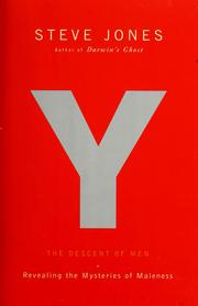 Cover of: Y: the descent of men