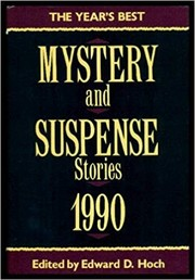 Cover of: The Year's best mystery and suspense stories, 1990