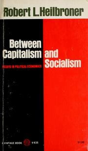 Cover of: Between capitalism and socialism: essays in political economics