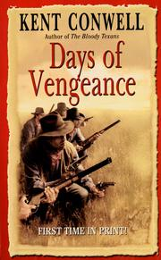 Cover of: Days of vengeance