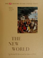 Cover of: Prehistory to 1774: the New World