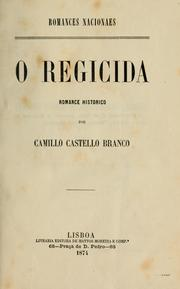 Cover of: O regicida