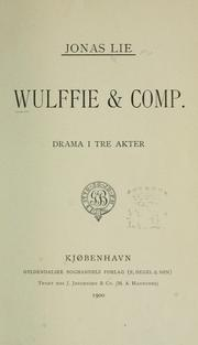 Cover of: Wulffie & comp.