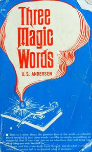 Cover of: Three Magic Words