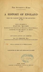 Cover of: The student's Hume