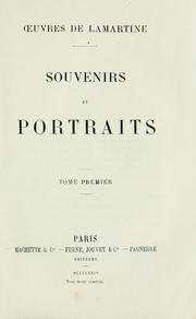 Cover of: Souvenirs et portraits