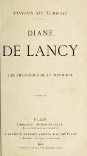 Cover of: Diane de Lancy.