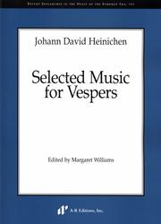 Cover of: Selected music for vespers