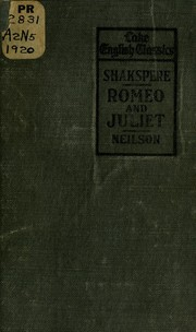 Cover of: Shakespeare's Romeo and Juliet