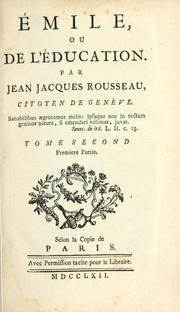 Cover of: Émile