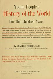 Cover of: Young people's history of the world for one hundred years ..