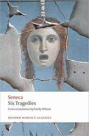 Cover of: Six tragedies