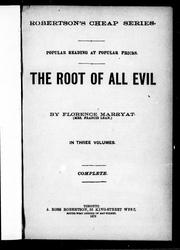 Cover of: The root of all evil