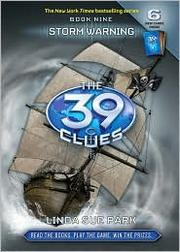 Cover of: Storm Warning (The 39 Clues #9)