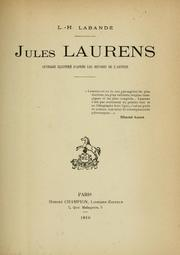 Cover of: Jules Laurens