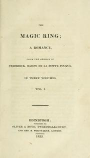 Cover of: The magic ring