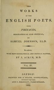 Cover of: The poetical works of Edmund Spenser in six volumes from the text of J. Upton