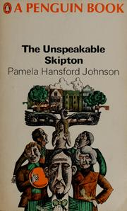 Cover of: The unspeakable Skipton.