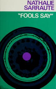 Cover of: Fools Say (Calderbooks)