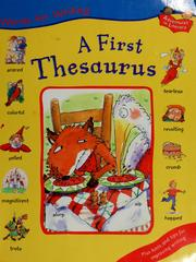 Cover of: A first thesaurus