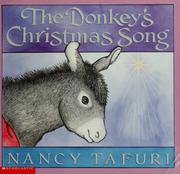 Cover of: The donkey's Christmas song