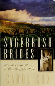 Cover of: Sagebrush brides: Love Rules the Ranch in Four Complete Novels