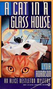 Cover of: A cat in a glass house