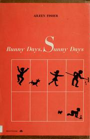 Cover of: Runny days, sunny days, merry verses with silhouettes