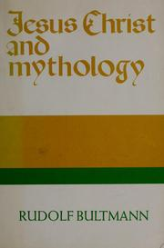 Cover of: Jesus Christ and mythology