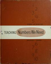 Cover of: Teaching Numbers we need