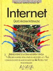 Cover of: Internet (Manual imprescindible)