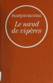 Cover of: Le noeud de vipères