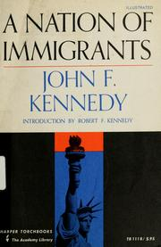 Cover of: A nation of immigrants