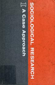 Cover of: Sociological Research