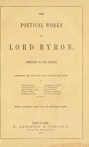 Cover of: The poetical works of Lord Byron: with introduction
