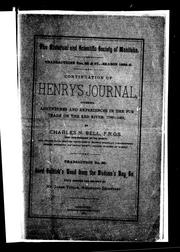 Cover of: Continuation of Henry's journal