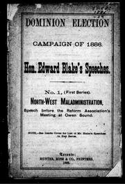 Cover of: North-West affairs