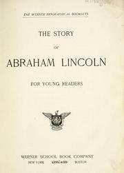 Cover of: The story of Abraham Lincoln for young readers