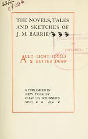 Cover of: Auld licht idylls, Better dead: Better Dead (Short Story Index Reprint Series)