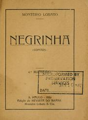 Cover of: Negrinha
