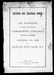 Cover of: Culture and practical power