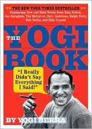 Cover of: The Yogi Book