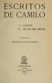 Cover of: Escritos: Noticia por Júlio Días da Costa.